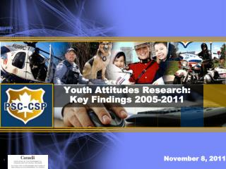 Youth Attitudes Research:  Key Findings 2005-2011