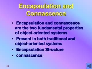 Encapsulation and Connascence