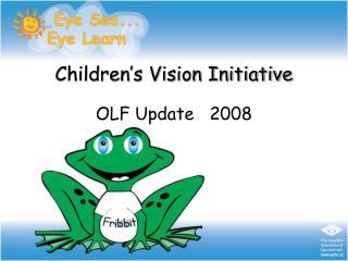 Children's Vision Initiative
