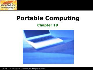 Portable Computing