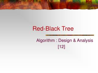 Red-Black Tree