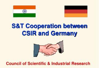 ST Cooperation between CSIR and Germany