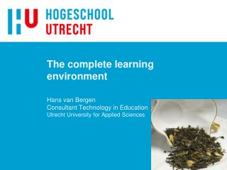 The complete learning environment