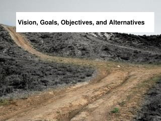 Vision, Goals, Objectives, and Alternatives