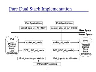 Pure Dual Stack Implementation