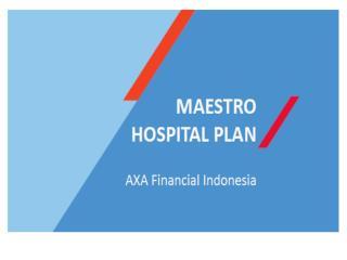 maestro hospital plan