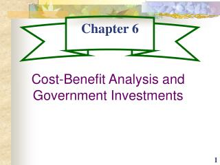 Economic Analysis for the Budget Process: