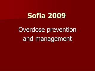 Sofia 2009