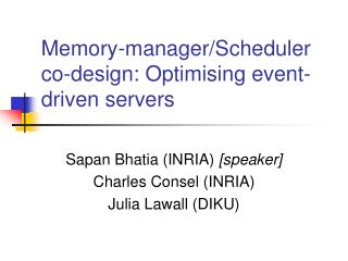 Memory-manager