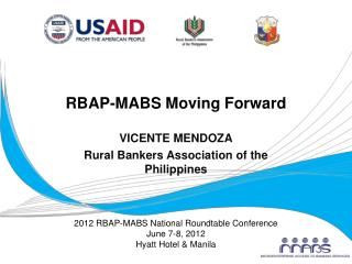 RBAP-MABS Moving Forward