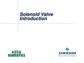 Solenoid  Valve  Introduction