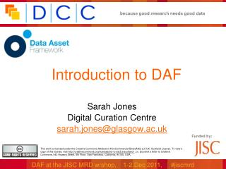 Introduction to DAF