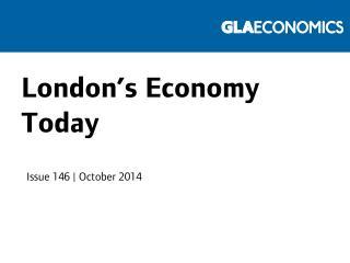 London's Economy Today