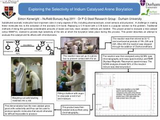 Exploring the Selectivity of Iridium Catalysed Arene Borylation