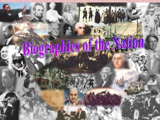 Biographies of the Nation