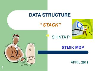 "DATA STRUCTURE "" STACK"""