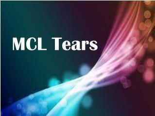 MCL Tears