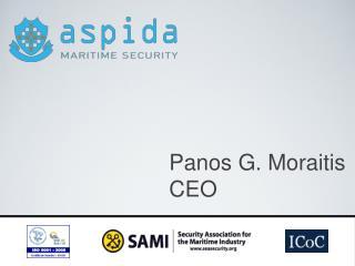Panos G. Moraitis CEO