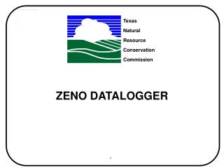 ZENO DATALOGGER