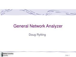 General Network Analyzer