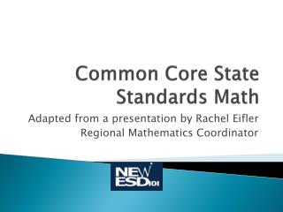 Common Core State Standards Math