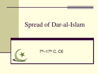 Spread of Dar-al-Islam