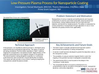 Low-Pressure Plasma Process for  Nanoparticle  Coating
