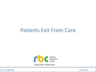 Patients Exit From Care
