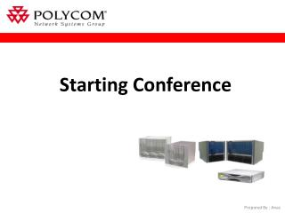 Starting Conference