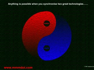 Anything is possible when you synchronise two great technologies……