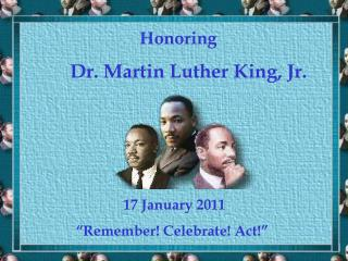 Honoring