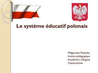 Le  système éducatif polonais