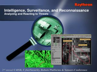Intelligence, Surveillance, and Reconnaissance Analyzing and Reacting to Threats