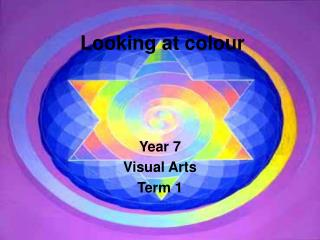 Year 7 Visual Arts  Term 1