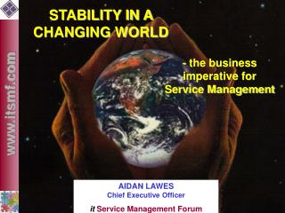STABILITY IN A CHANGING WORLD