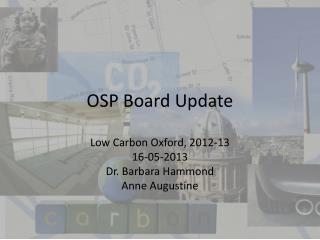 OSP Board Update