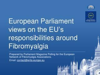 European Parliament views on the EU�s responsibilities around Fibromyalgia
