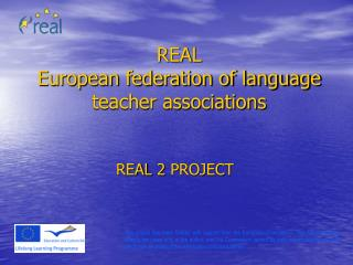 REAL European federation of language teacher associations