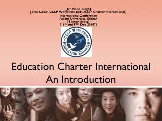 Education Charter International An Introduction