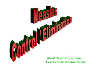 Measles Control