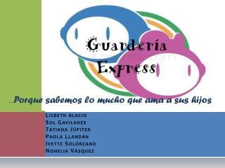 Lizbeth blacio Sol Gavilanes Tatiana Júpiter Paola Llandán Ivette Solórzano Nohelia Vásquez
