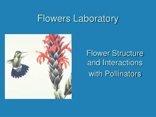Flowers Laboratory