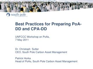South Pole is proactively shaping the PoA market and conciously takes the risk of an early mover