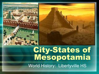 City-States of Mesopotamia