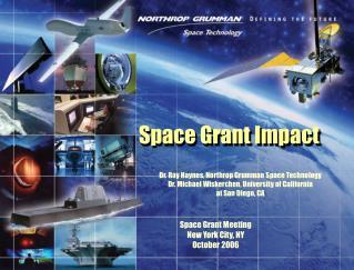 Space Grant Impact