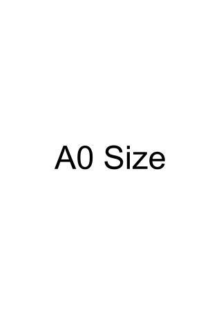 A0 Size