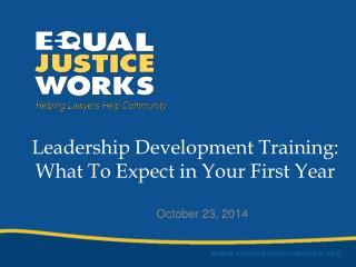 Leadership Development Training: What To Expect in Your First Year