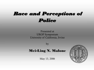How do people perceive the social functions of the police?