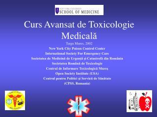 Curs Avansat de  Toxicolog ie Medicală Targu Mures, 2002