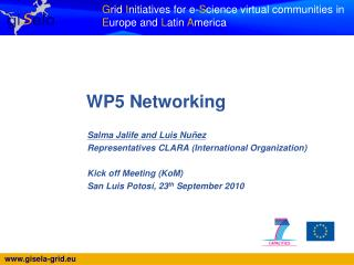 WP5 Networking